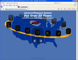 Website Design - Advanced Response Systems 25th Anniversary - Image