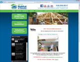Website Design - Lakes Area Habitat for Humanity - Image